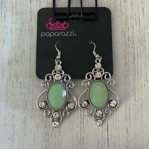 COPY - Green Fishhook Earrings